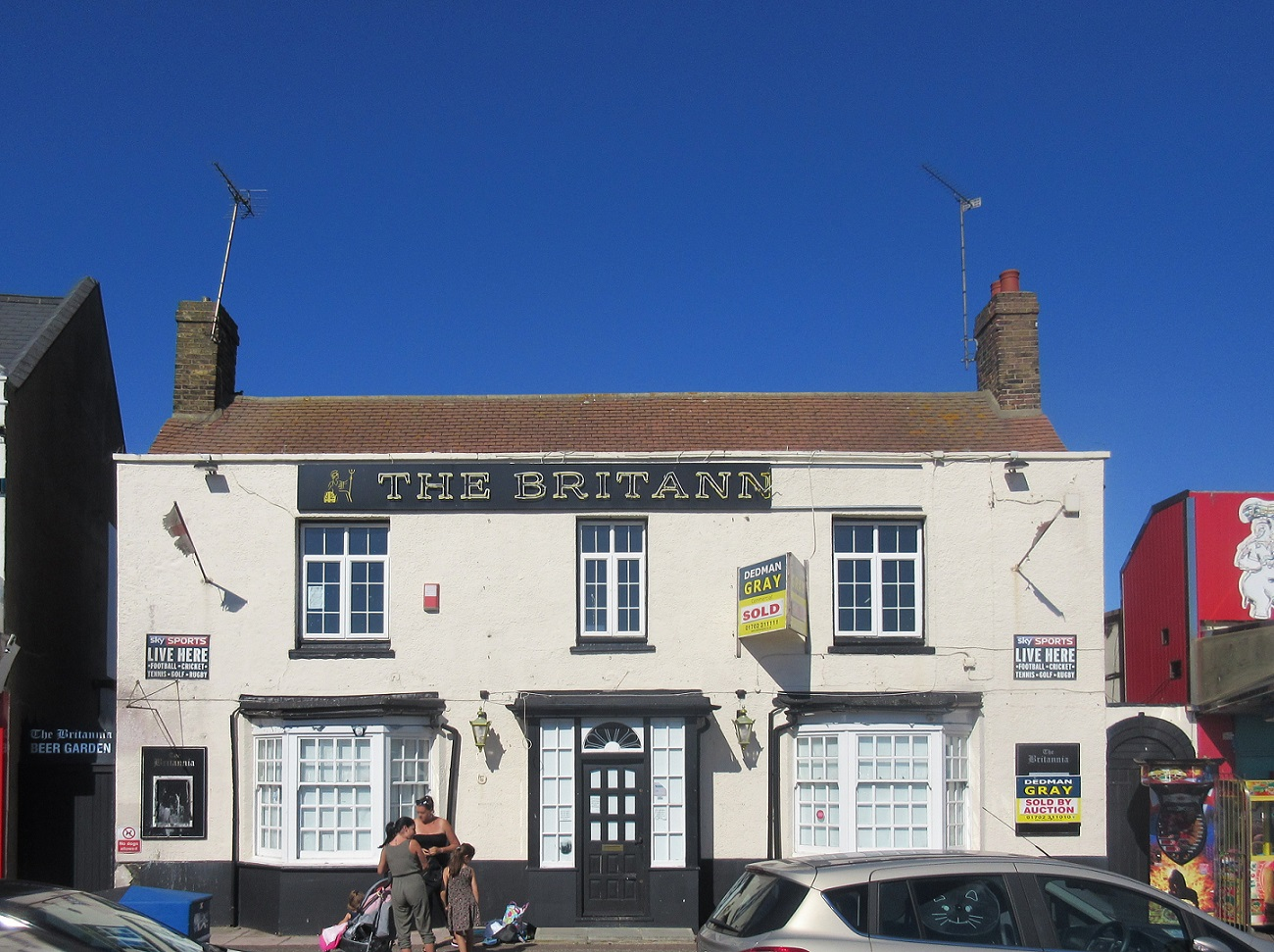 The Britannia public house, Southend-on-Sea, Essex